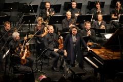 Elisabeth Leonskaja und das MKO © Florian Ganslmeier
