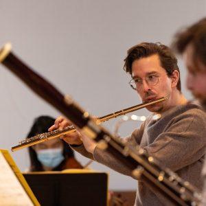Maximilian Randlinger (Flöte) Foto: Florian Ganslmeier