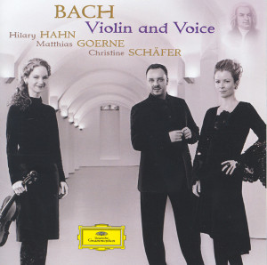 BACH: VIOLIN AND VOICES
