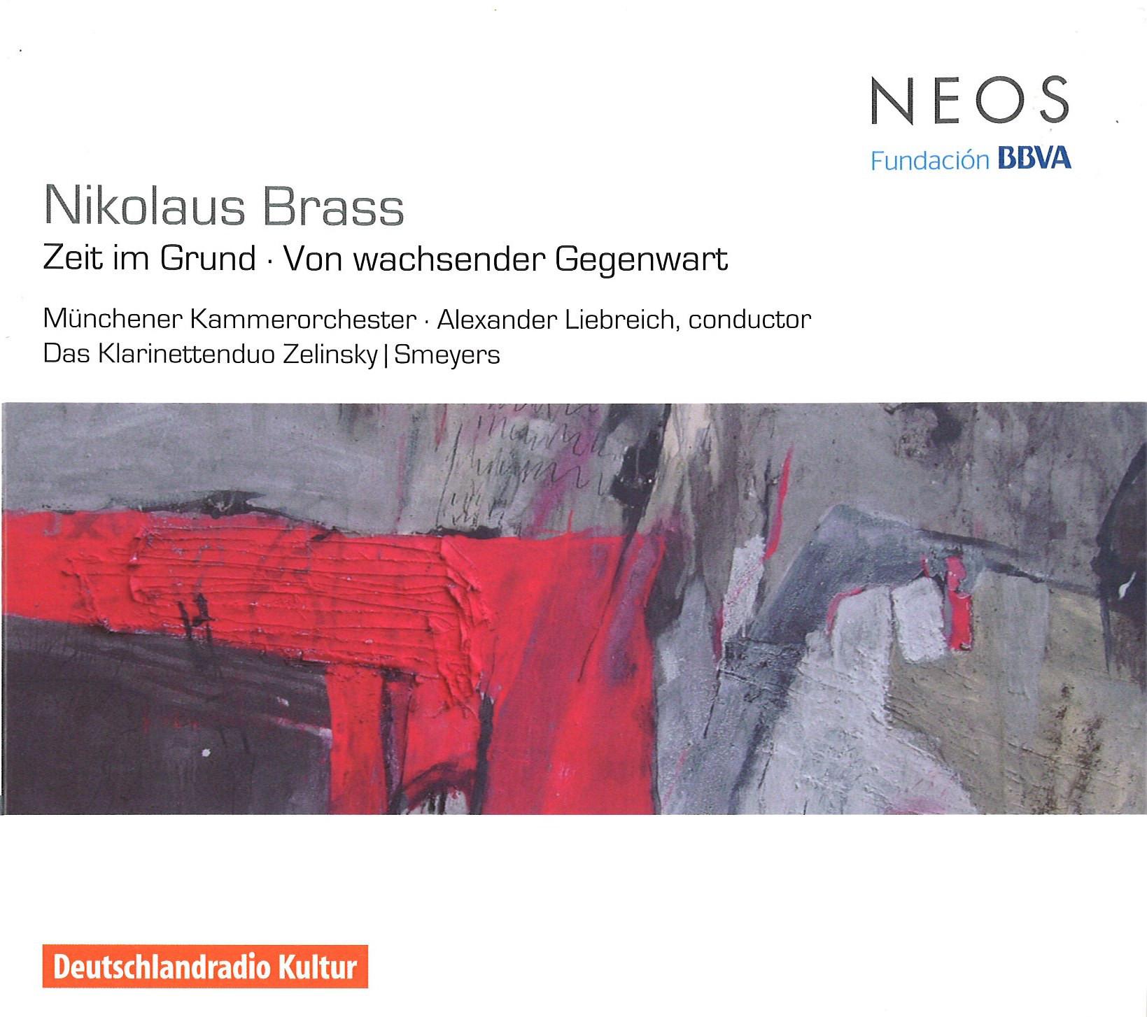 NIKOLAUS BRASS, ZEIT IM GRUND / VON WACHSENDER GEGENWART