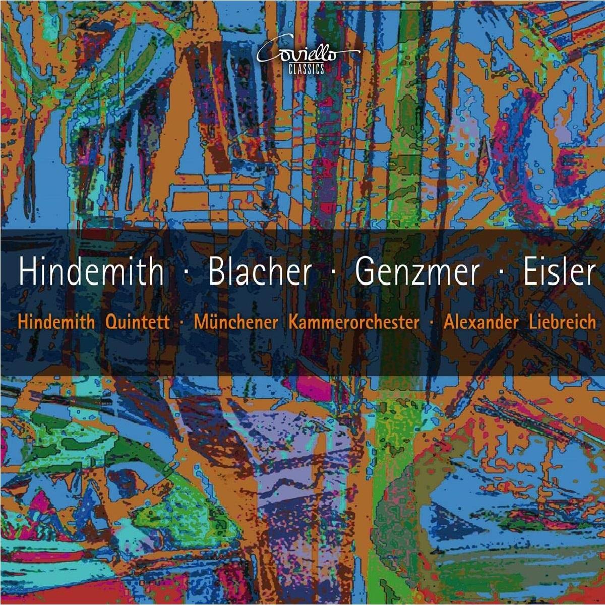 Coviello_Hindemith Blacher Genzmer Eisler Cover