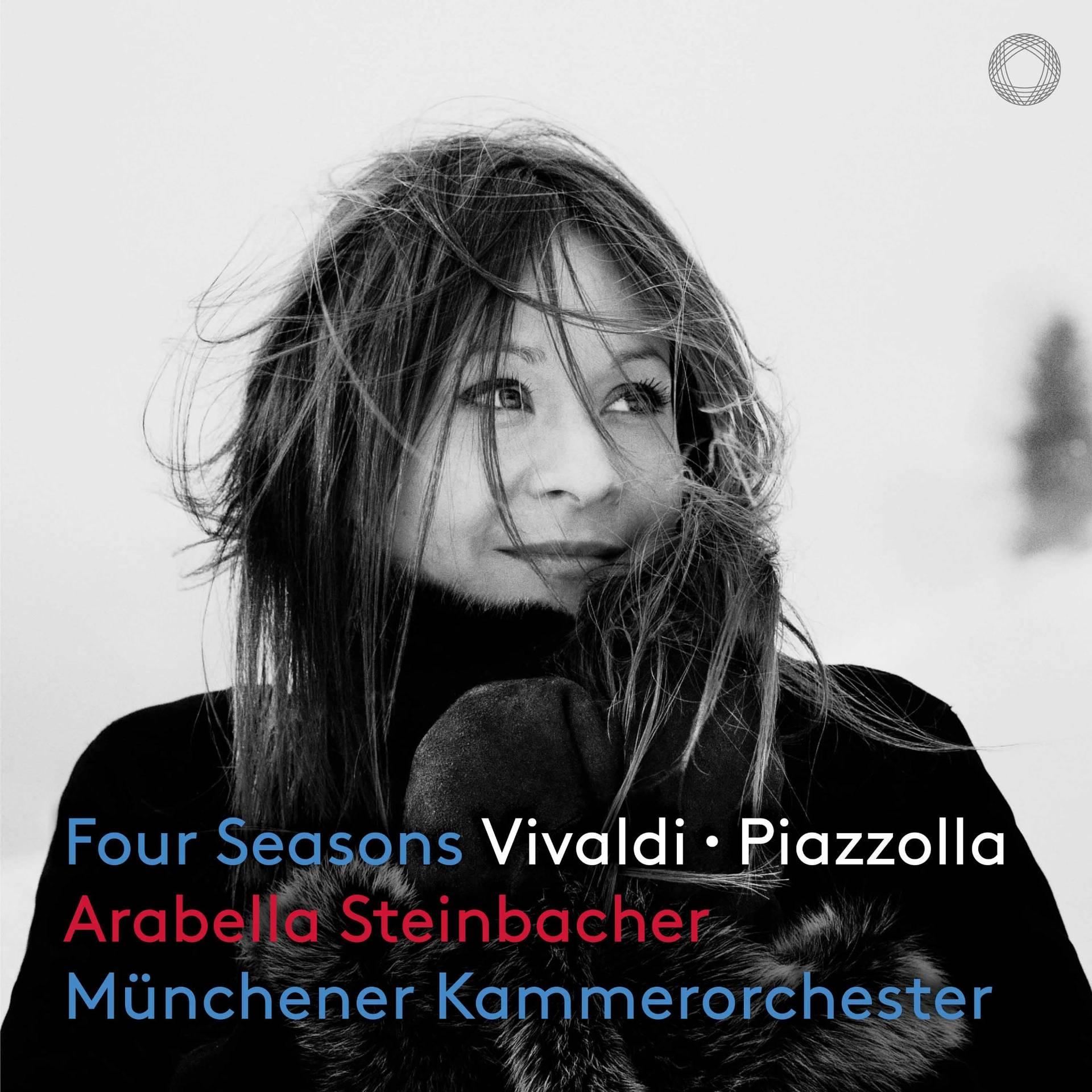 Four Seasons CD Cover Arabella Steinbacher