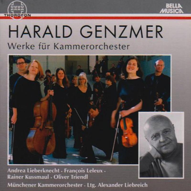 Harald Genzmer Werke für Kammerorchester