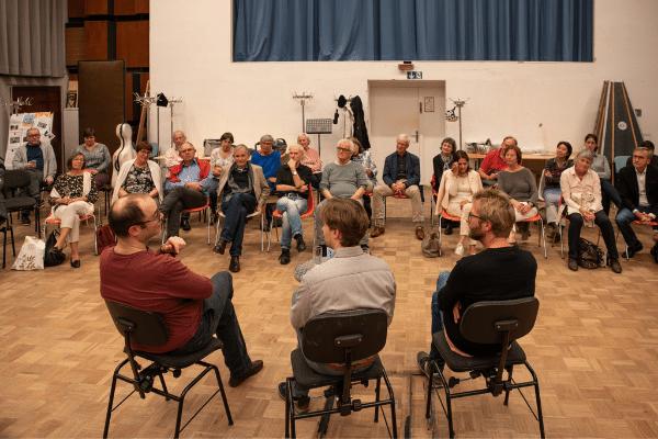 Werkstattgespräch mit Chefdirigent Clemens Schuldt, Pianist Alexander Melnikov und Komponist Johannes Maria Staud