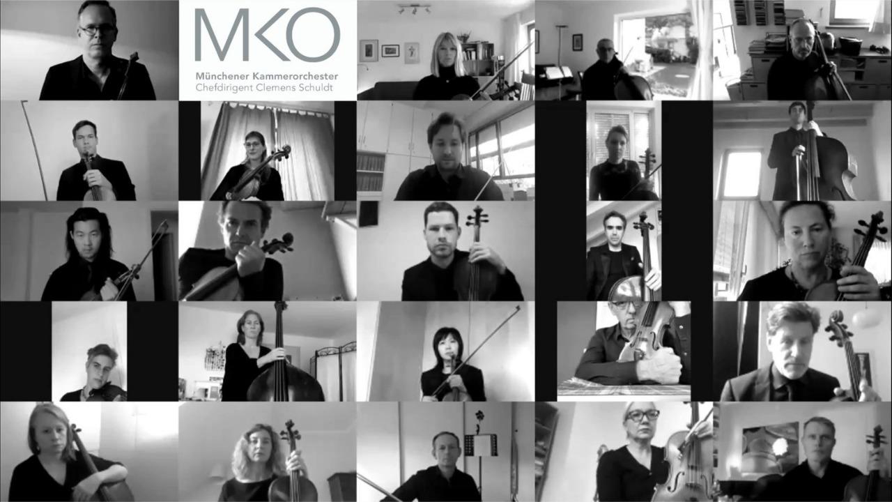 Das Münchener Kammerorchester im Lockdown